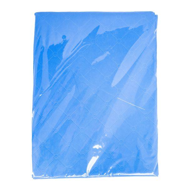 Oerbron blauw vloerzeil voor onder een bevalbad