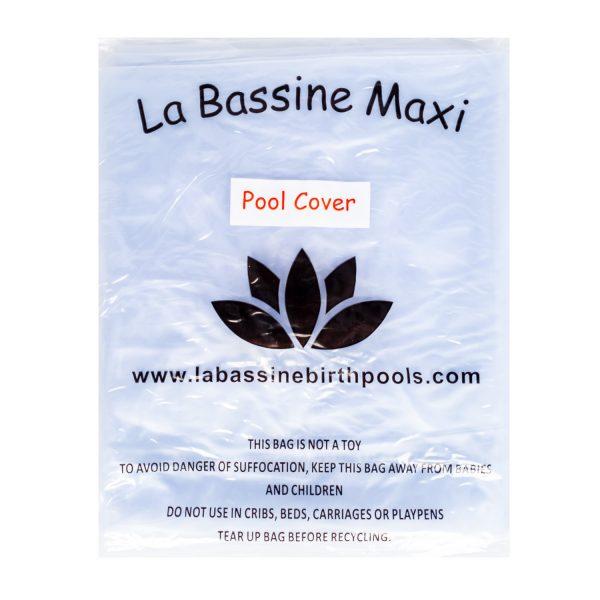 Afdekhoes voor het opblaasbaar bevalbad La Bassine Cocon Maxi.